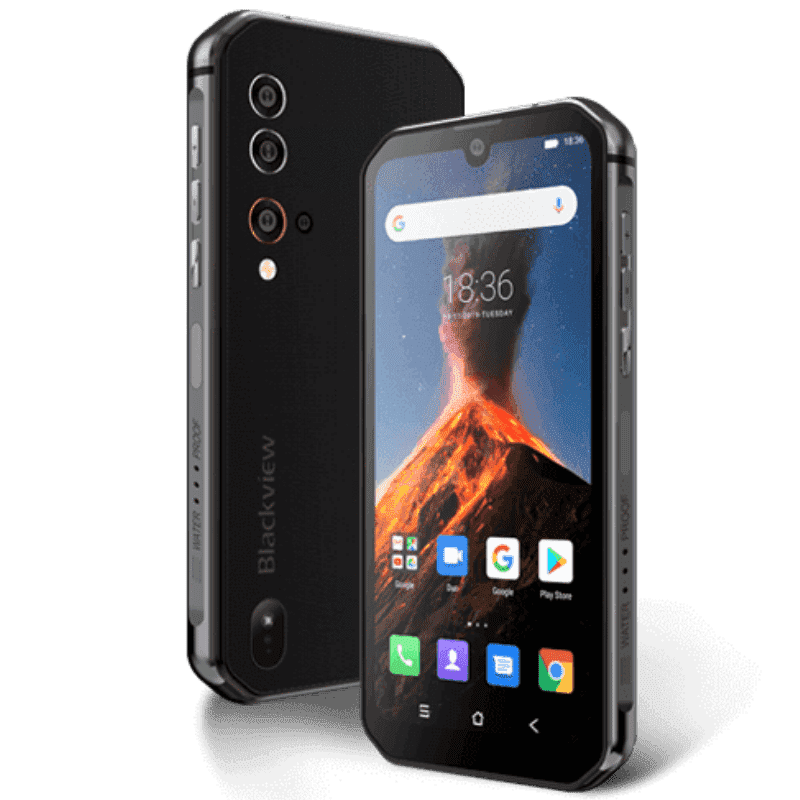 Blackview BV9900 Rugged Android 9.0 Smartphone - 48MP, 8GB, 256GB, IP68 Black