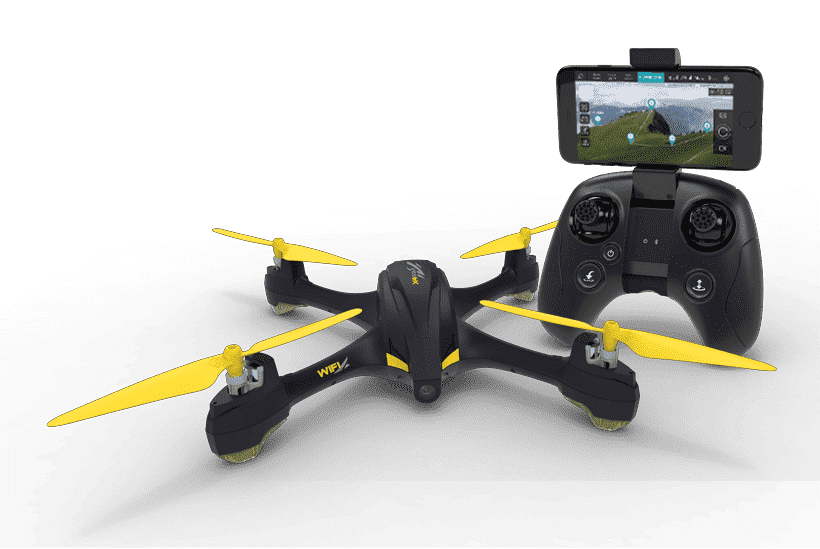 HUBSAN H507A X4+ Star Pro drone with Real FPV WiFi Transmission