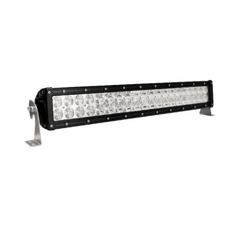 200W, 17120 Lm - Rugged SA 20'' Dual Row LED Light Bar,  Combination, with brackets and harness + BLACK-OUT COVER