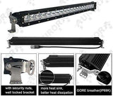 150W, 16920 Lm - Rugged SA 30'' Single Row LED Combination Light Bar, with brackets and harness