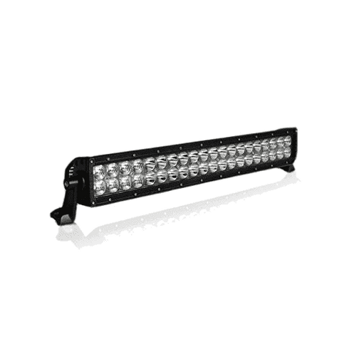 200W, 17120 Lm - Rugged SA D1 Series 20'' Dual Row LED Light Bar with brackets and harness + BLACK-OUT COVER