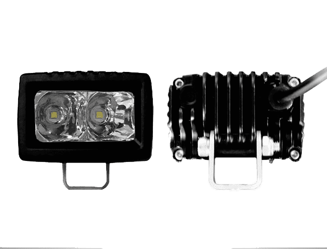 "20W, 2200 Lm - Rugged SA 2"" L-Series Single Row Off Road LED Light Bar Spot Beam"