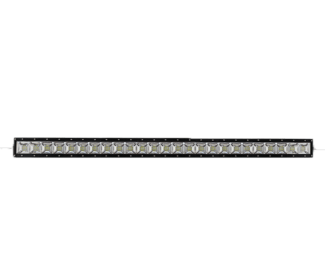 300W, 25500 Lm - Rugged SA 30'' Dual Row Scene Light LED Bar, with brackets and harness + BLACK-OUT COVER