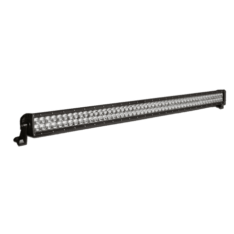 500W, 42800 Lm - Rugged SA 50'' Dual Row LED Light Bar, Combination Beam, with brackets and harness + BLACK-OUT COVER