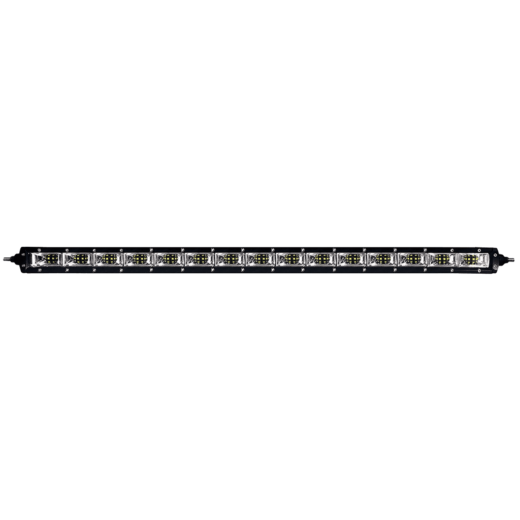 200W, 22570 Lm - Rugged SA 40'' Single Row Scene Light LED Bar, with brackets and harness