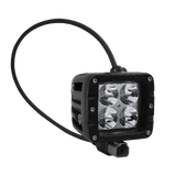 LED Lighting - Rugged SA W1 Series Double Row Cube 40W Flood Beam Pattern Led Off-road Light , With Brackets And Harness