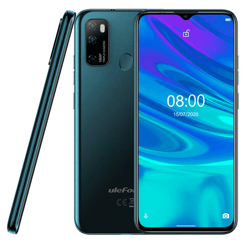 UleFone Note 9P Android 10.0 Smartphone - 4GB, 64GB, Dual-SIM, Face-ID