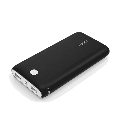 Powerbank - Aukey PB-N15 20000mAh 3.1A Dual-USB Portable External Battery Charger With AIPower