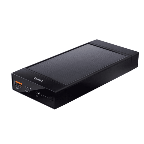 PB-P23 16000mAh Qualcomm Quick Charge 3.0 Solar Power Bank USB C Output