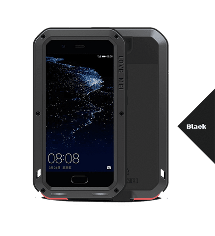 Rugged Cover - LOVE MEI POWERFUL Series For Huawei P10