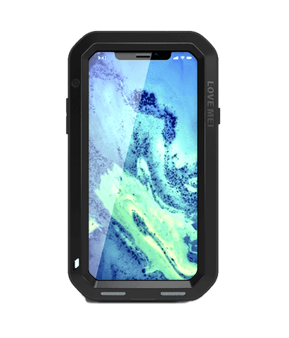 Rugged Cover - LOVE MEI Powerful Series IPhone X
