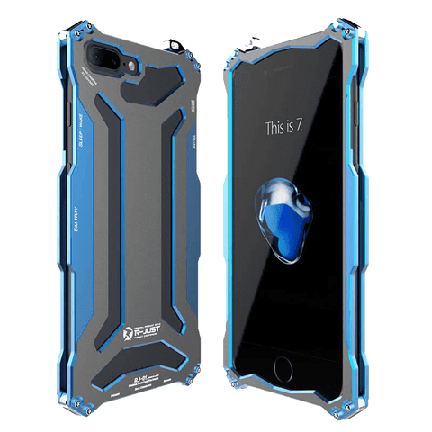 Rugged Cover - Rugged SA Gundam 360° Armor Case For IPhone 7 Plus