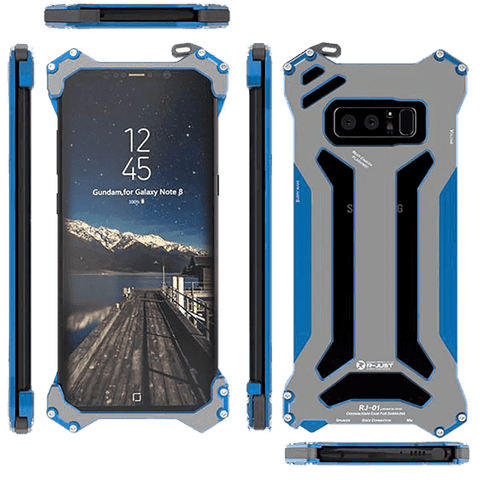 Rugged Cover - Rugged SA Gundam 360° Armor Case For Samsung Galaxy Note 8