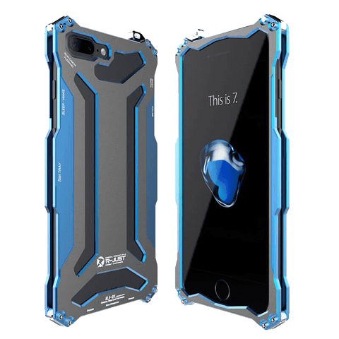 Rugged Cover - Rugged SA GUNDAM ELITE 360° Armor Case For IPhone 8 Plus