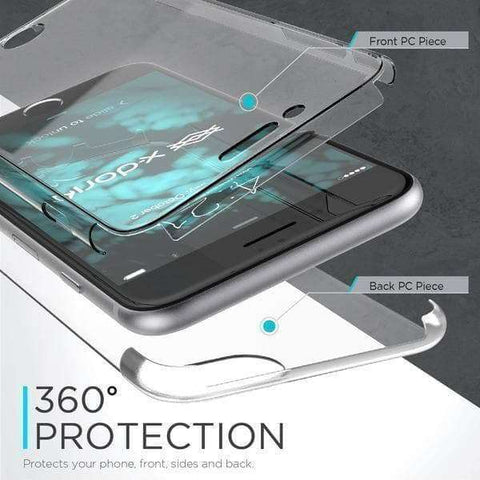 Rugged Cover - X-Doria DEFENSE 360 Glass Rugged Cover - IPhone 7 PLUS