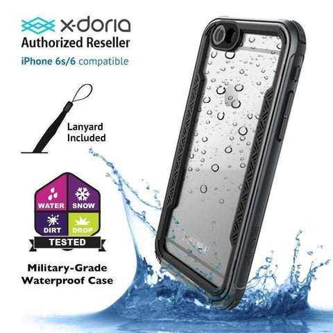 Rugged Cover - X-Doria DEFENSE H20 Waterproof Rugged Cover - IPhone 6/6S