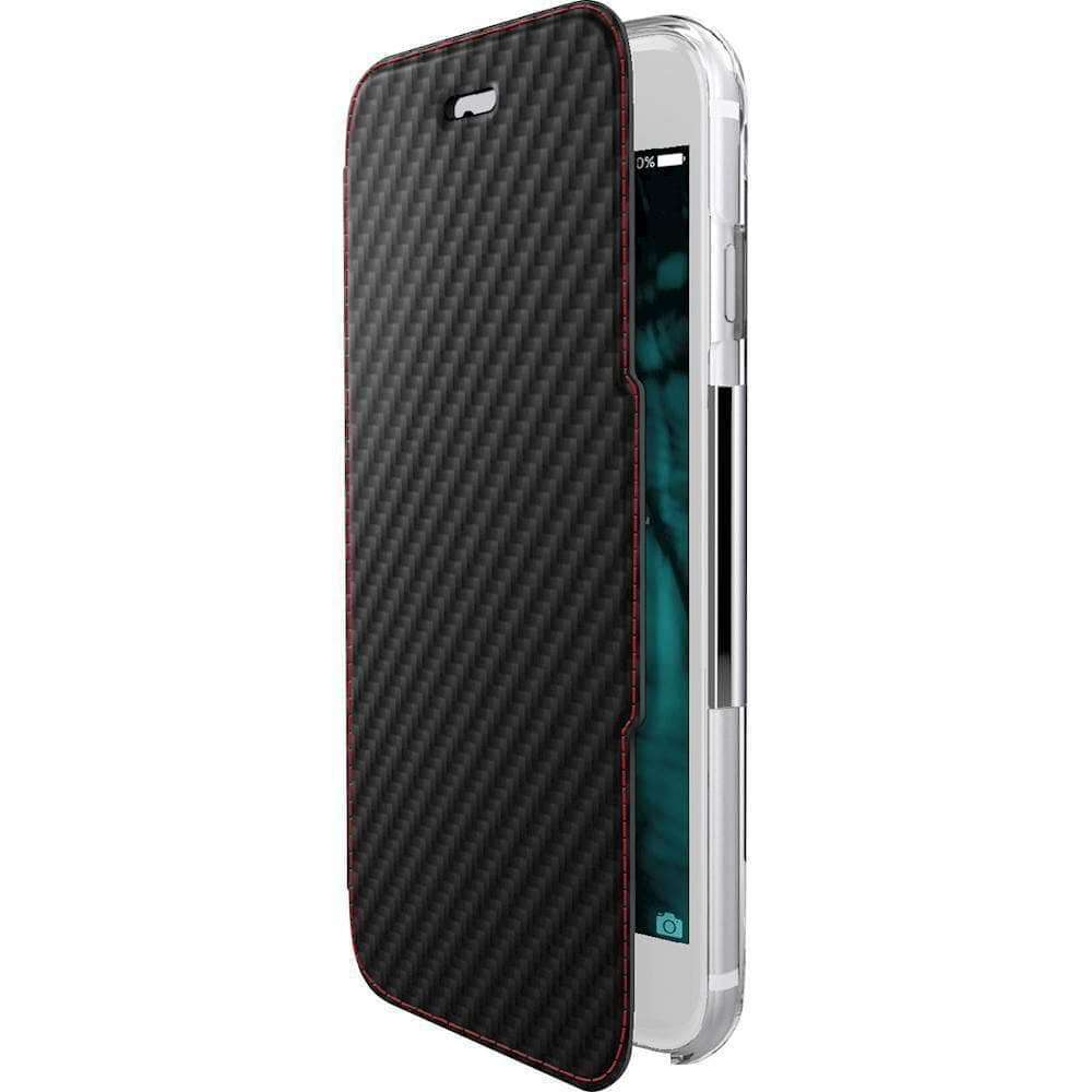 Rugged Cover - X-Doria ENGAGE FOLIO CARBON Rugged Cover - IPhone 7 Plus