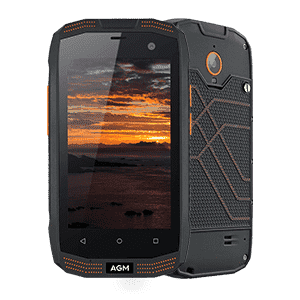 Rugged Phones - AGM A2 Rugged Android Smartphone - 2GB, 16GB, IP68