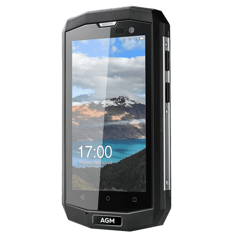 Rugged Phones - AGM A8 Mini Rugged Android Smartphone - 1GB, 8GB, IP68, QUALCOMM Snapdragon CPU, Dual-Sim