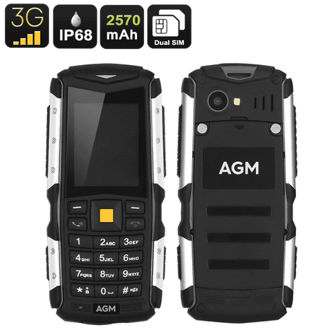 AGM M1 Rugged Mobile Phone - IP68