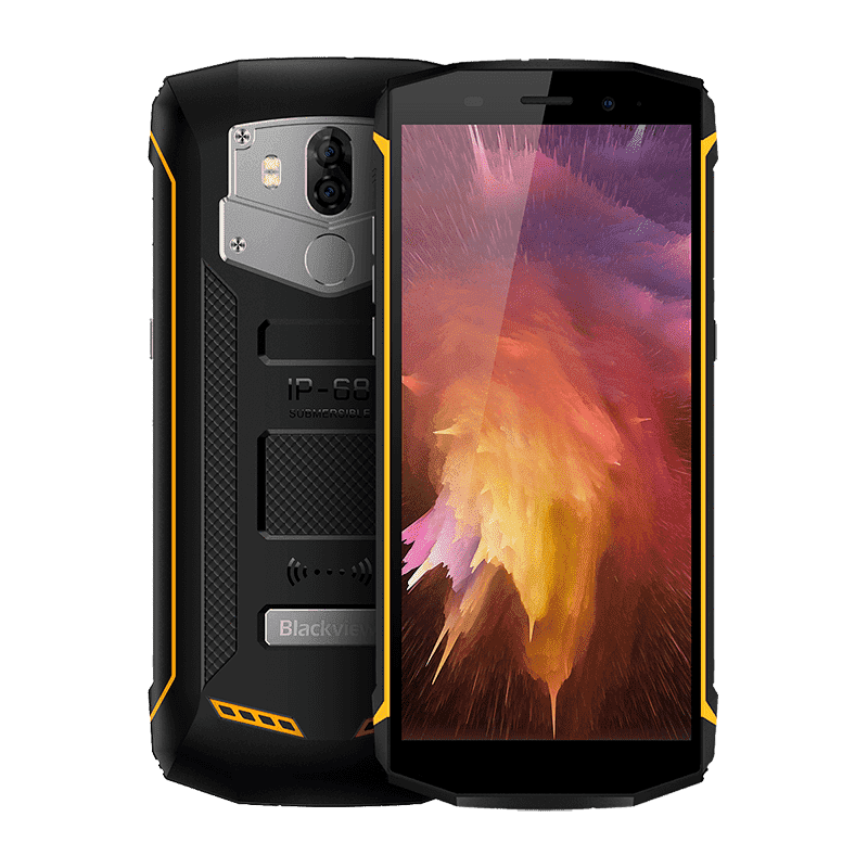 Rugged Phones - Blackview BV5800 Pro Android 8.1 Smartphone - 16GB, 2GB, Dual-SIM, IP68