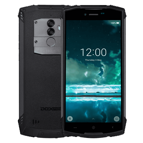 Rugged Phones - Doogee S55 Rugged Phone - 4GB, 64GB, IP68, Dual-SIM