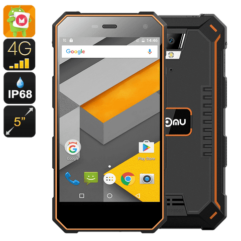 Rugged Phones - Nomu S10 Rugged Android Phone - 2GB RAM, 16GB Memory
