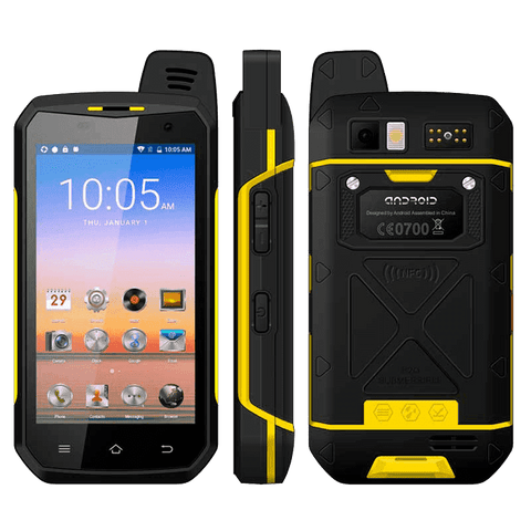 Rugged Phones - Taurus B6000 - 4GB, 64GB, Dual-SIM, IP68