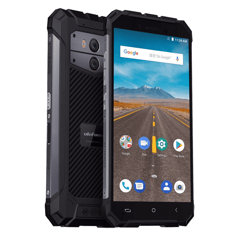 Rugged Phones - UleFone Armor X Rugged Android 8.1 Smartphone - 2GB RAM, 16GB, Dual-SIM, IP68