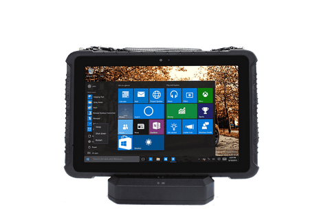 "RST-10W - 10.1"" Windows Rugged 1D/2D Barcode Scanning Tablet"