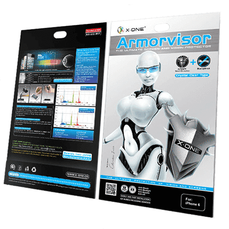 ARMORVISOR - The Ultimate Screen and Vision Protector for iPhone 6