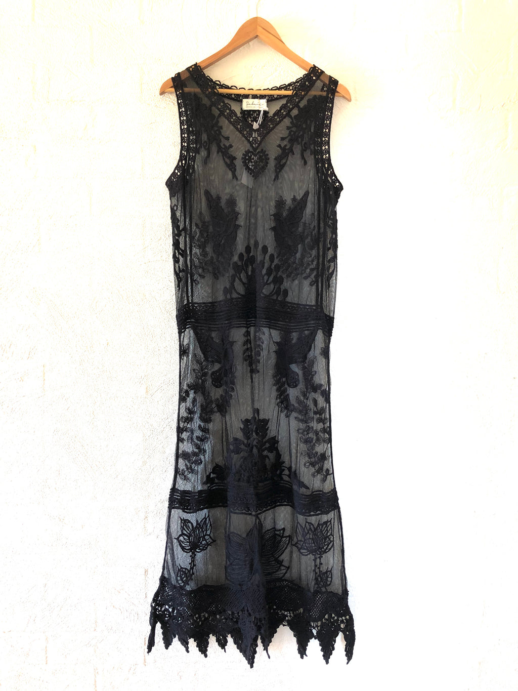 We The Free Lace Maxi - Black