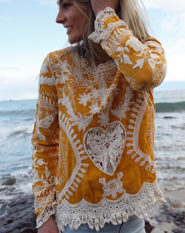 Without Boarders - Luxe Lace Kimono