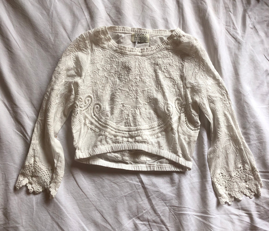 Wild Sunday's Luxe Lace Long Sleeve