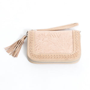Lilou Travel Wallet - Blush