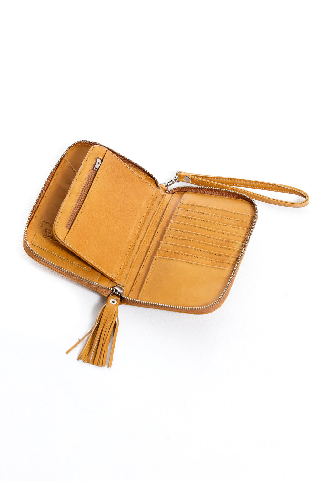 Lilou Travel Wallet - Tan