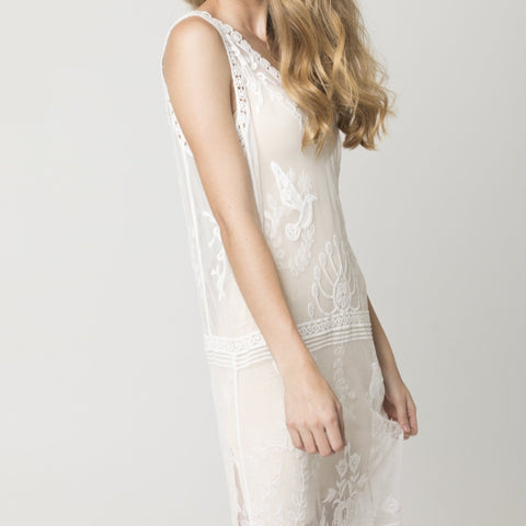 We The Free Lace Maxi - White