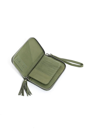 Moana Travel Wallet - Olive