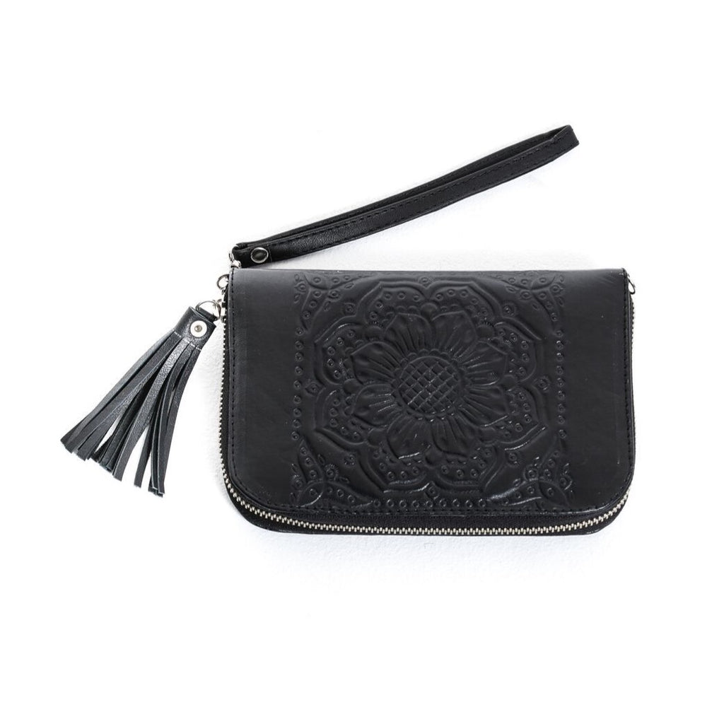 Moana Travel Wallet - Black
