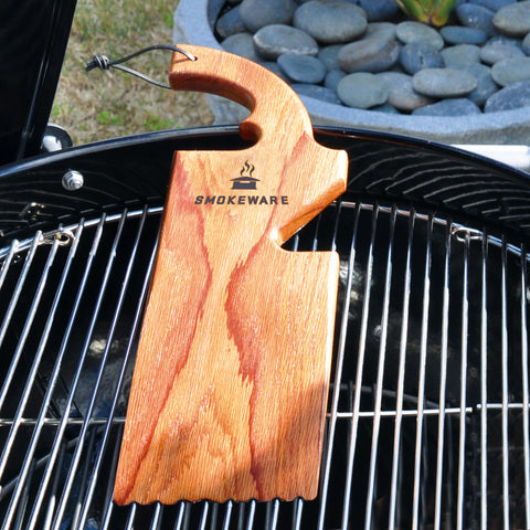 Grill Cleaner Made From Wood