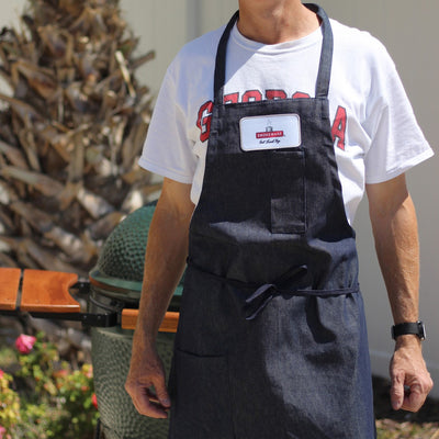 Smokeware Apron with Patch Logo