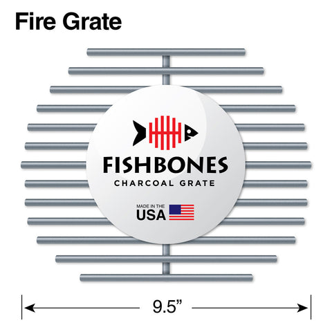 Fishbones 174 Charcoal Grate Smokeware Grill Accessories