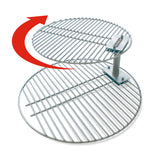 Grate Stacker + Grill Grate - Combo