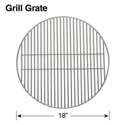 Large Raiser + Grill Grate Combo
