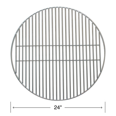 Heavy Stainless Steel Grill Grates - Three Sizes Available