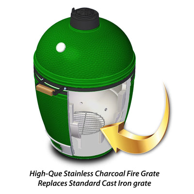 Stainless Charcoal Fire Grate for BGE