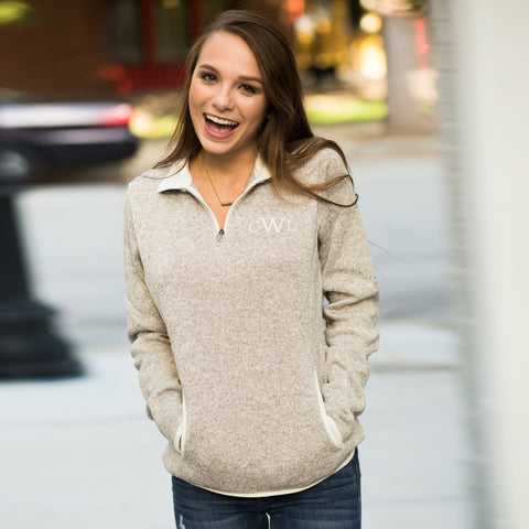 Heathered Fleece Pullover (Ladie's)