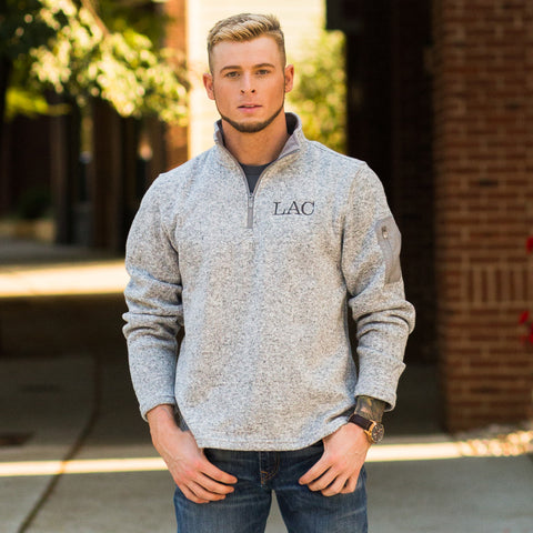 Heathered Fleece Pullover (Men's)
