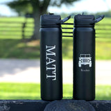 Chill Cups *Hot or Cold* 27 Oz Water Bottle