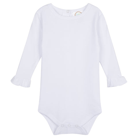 Onesie with Ruffle (Long Sleeve)